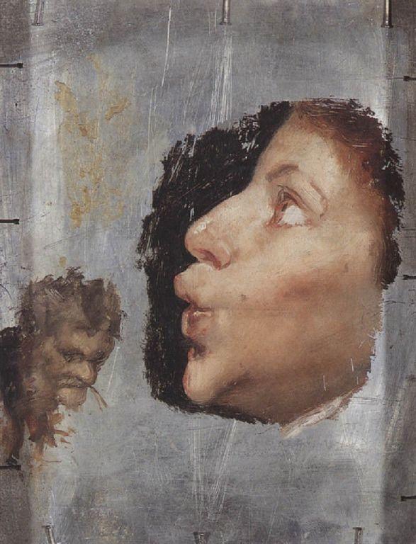 .:. Γύζης Νικόλαος – Gyzis Nikolaos [1842-1901] Παιδί που σφυρίζει (πίσω όψη