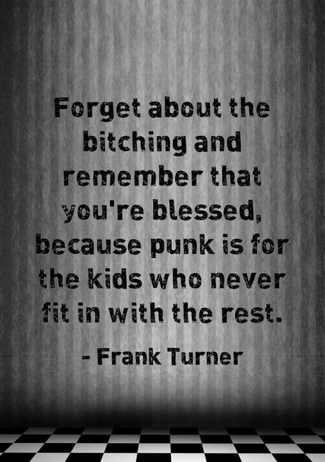 Frank Turner - Four Simple Words