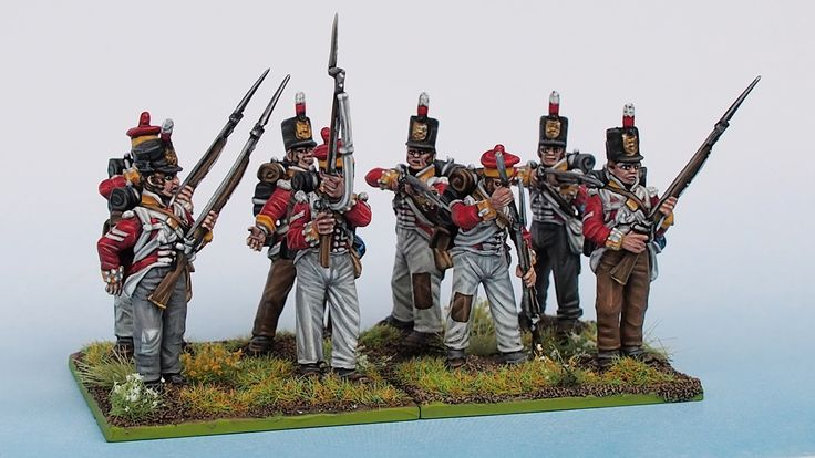 30th Foot Line Reinforcement painted from Tobias Kirchner (Perry Miniatures)