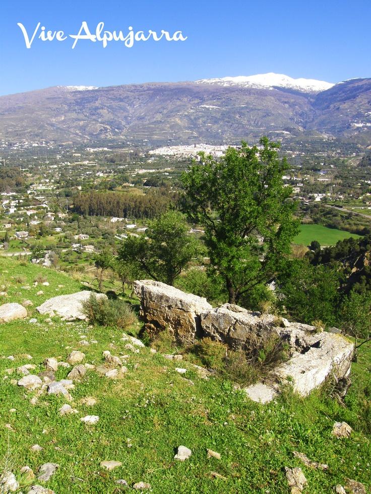 Aljibe del Castillo de Órgiva. Vive Alpujarra