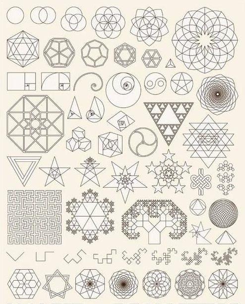 sacred geometry by http://www.nakgeo.com/