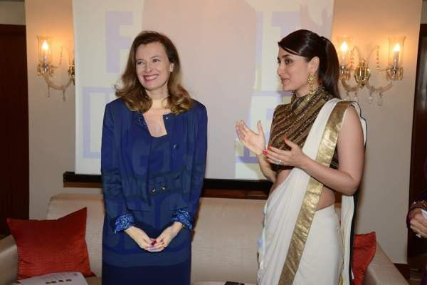 #KAREENA KAPOOR KHAN, SPECIAL GUEST AT #FRENCH FIRST LADY'S LUNCHEON #fridaymoviez