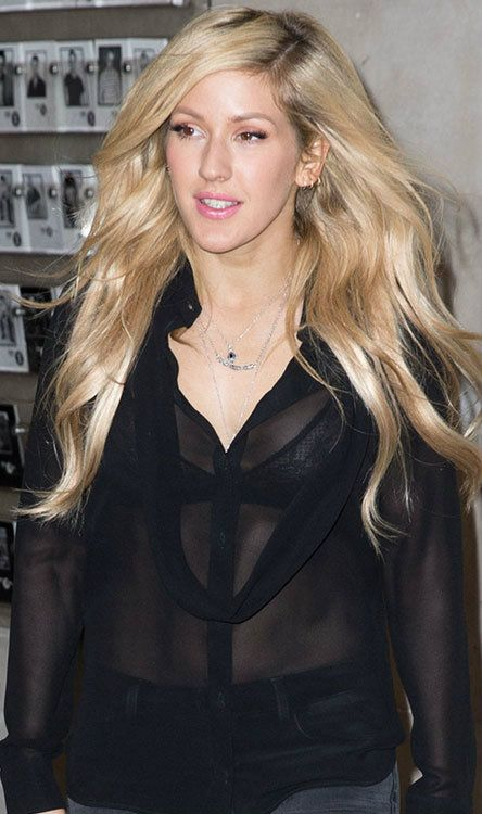 Multimillion-selling recording artist Ellie Goulding has been very busy these days promoting her latest single, Love Me Like You Do, which will also be featured in the soundtrack of the movie, Fifty Shades of Grey. Ellie was spotted last Thursday arriving at the BBC Radio 1 studios for an appearance on Nick Grimshaw's radio breakfast show.