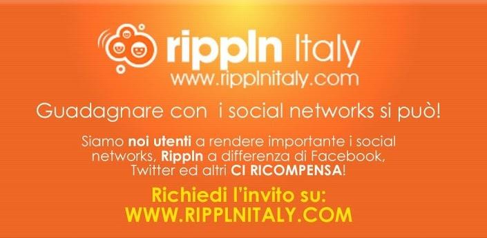 www.ripplnitaly.com visita il sito e nn farti sfuggire questa opportunitá