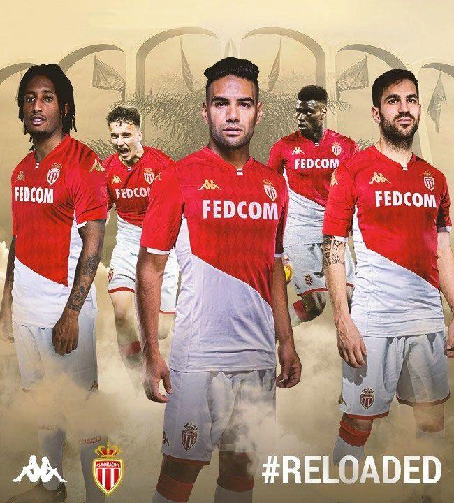 dedo Y así Prever  Kappa AS Monaco 19-20 Home Soccer Jerseys Shirt | As monaco, Soccer jersey,  Monaco