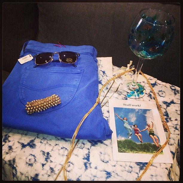 Something Blue? Take is easy with this lovely casual look.Don't forget the Sunnies!  http://bowandpearl.com/new-in.html
