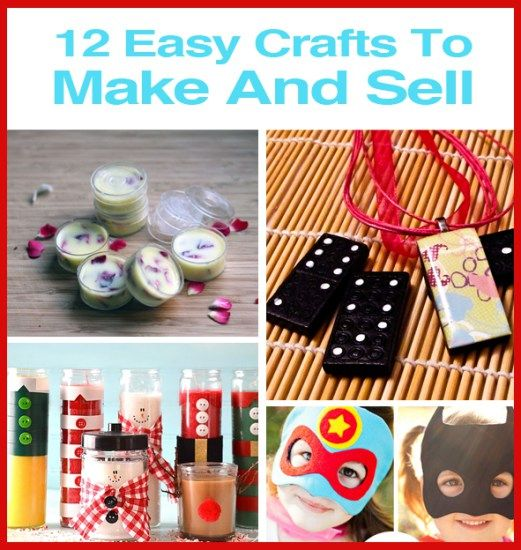 17 best images about diy craft activities on pinterest for Simple things to make and sell