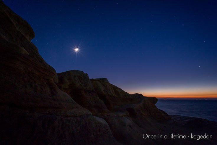 https://flic.kr/p/BpQE42   宵の千畳敷   夕暮れが過ぎ夜の帳が降りる頃、月明かりのある星空を撮ってみました。