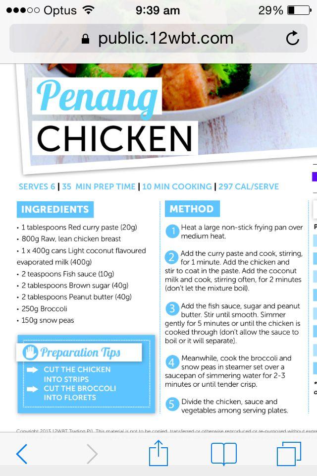 Penang Chicken