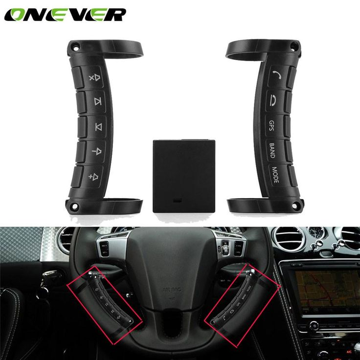 Universal Wireless Car Steering Wheel Remote Controller Button DVD GPS Remote Control Key Buttons For Car Stereo DVD Player GPS