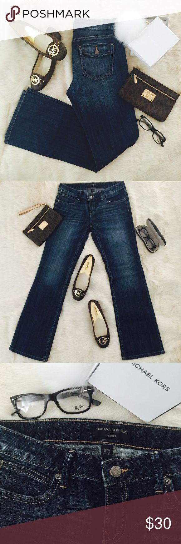 Banana Republic Flare Leg Jeans/Denim -Size: 26/2P Banana Republic Women's Flare Leg Jeans/Denim - Size: 26/2P. Like-new condition. Rarely worn.   #bananarepublic #denimjeans #jeans #fitandflare #nicejeans #denim Banana Republic Jeans Flare & Wide Leg