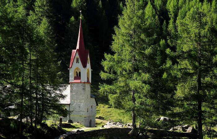 Valle Aurina, Predoi, Casere, Santo Spirito
