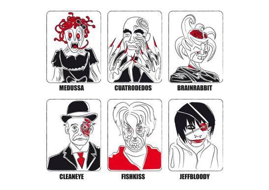 El Gabinete de Curiosidades de Josema Carrasco, este mayo en Cookies On The Net.  #terror #illustration #monsters #josemacarrasco @josemitadinamita #cookies on the net #art