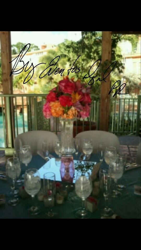 #DestinationWedding #TropicalDecoration #Wedding #CieloMarHotelPR