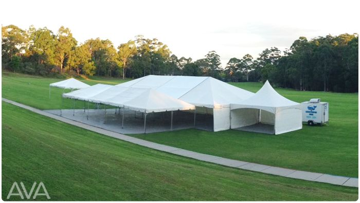 marquee for hire clear span wedding school event northern beaches sydney AVA PARTY HIRE Call us on 9938 599 for a quote