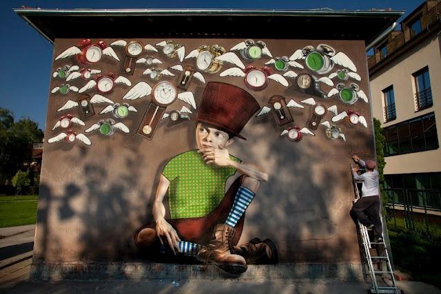 Croatia: Wall Art, Street Art Artists, Lonac Time Catcher 1, Urban Art, Bi Lonac, Zagreb Croatia, Lonac Street, Art En, Art Time
