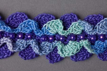 Ocean Waves Bracelet - Crochet Me crochet Pinterest