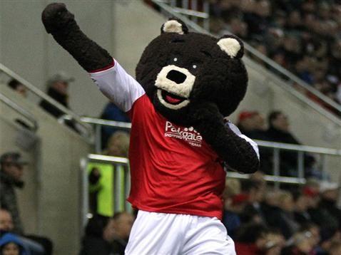 Rotherham United - Miller Bear.