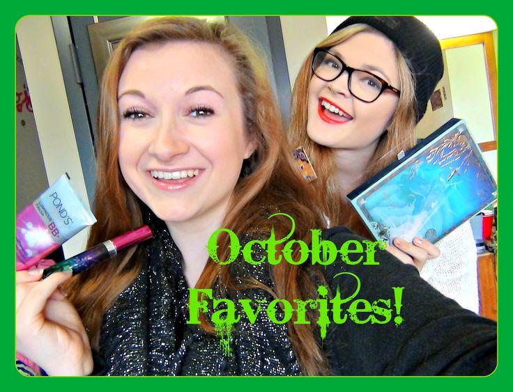 October 2013 Favorites with my roommate Miranda! #favorites #octoberfavorites #monthlyfavorites #beautyfavorites #drugstoremakeup #bbcream #ponds #mac #peaches #blush