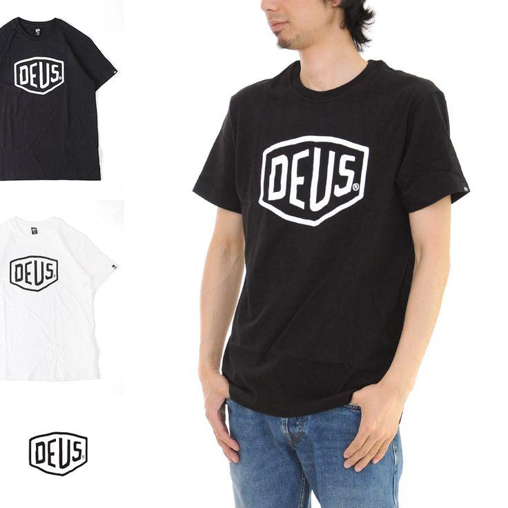 デウス エクス マキナ Deus ex Machina Tシャツ シールド 半袖 Tシャツ DMW41808E【SHIELD クルーネック カットソー プリントTシャツ ポケットT ロゴT ショートスリーブ ブランド】 532P16Jul16