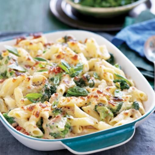 Creamy tuna and broccoli pasta bake | Australian Healthy Food Guide