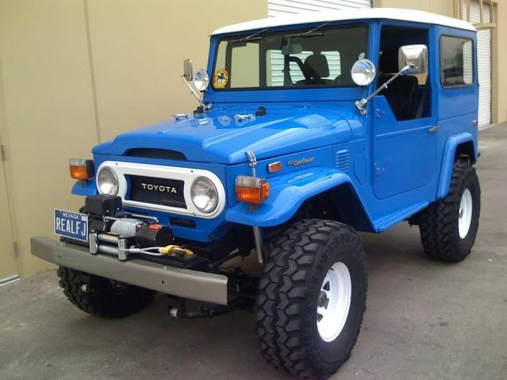 "Jeeps For Sale Bc >> blue FJ40 Toyota Landcruiser ""Jeep"" | Toyota Land Cruiser ..."
