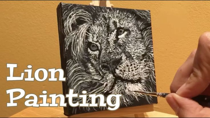 "Lion Painting /  Worship to the  ""Lion and The Lamb"" by Leeland and Bethel - YouTube"