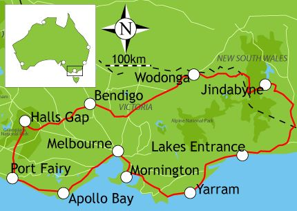 Campervan Hire Melbourne - 10 Day Itinerary