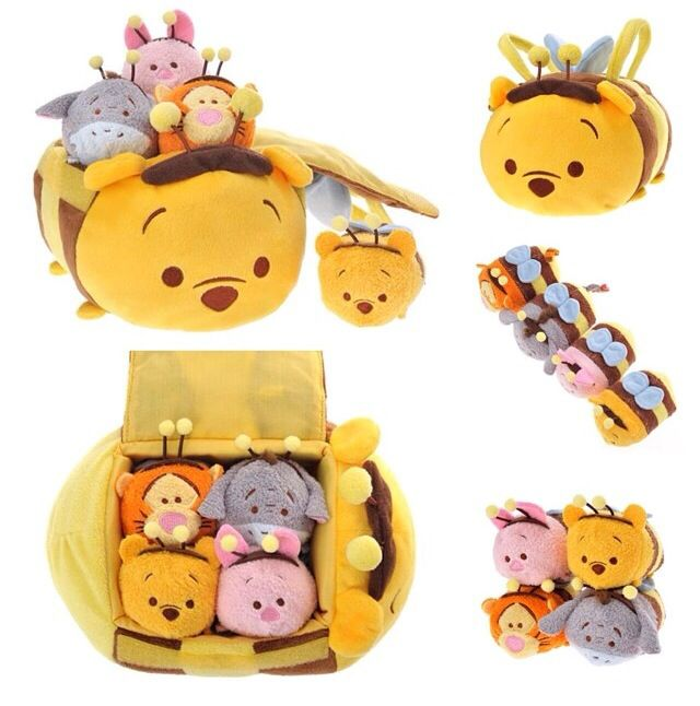 Tsum Tsum - Japan Pooh Bee Collection