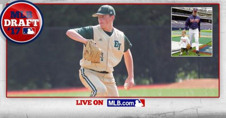 Baseball fans from the 90s might have had a bit of deja vu in the late rounds of the 2017 MLB Draft as the Angels selected Peyton Glavine out of Blessed Trinity High School in Georgia.  #Angels take LHP Peyton Glavine, son of Hall of Famer Tom Glavine, in Round 37 of the #MLBDraft:...