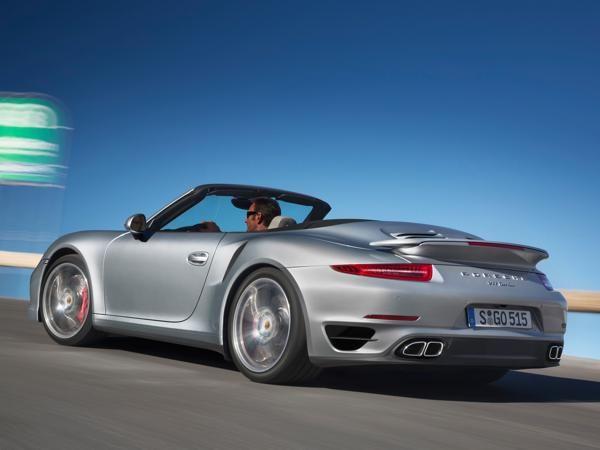 Cabriolet tops off Porsche 911 Turbo range