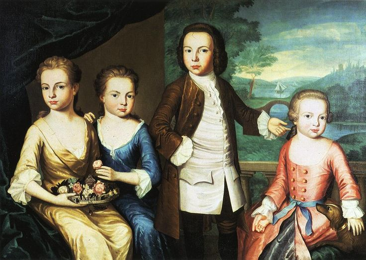 The Gore Children 1755  John Singleton Copley