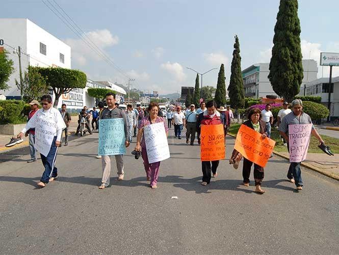 PGJE procederá contra agresores de maestros en Chiapas   El Puntero