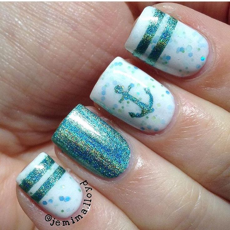 203 best Summertime Manicures images on Pinterest | Nail decals ...