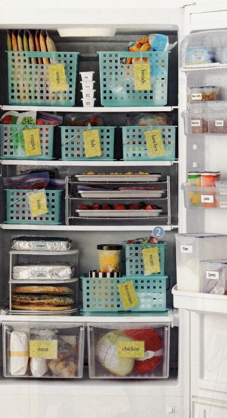 57 Best Freezer Org Images On Pinterest Fridge