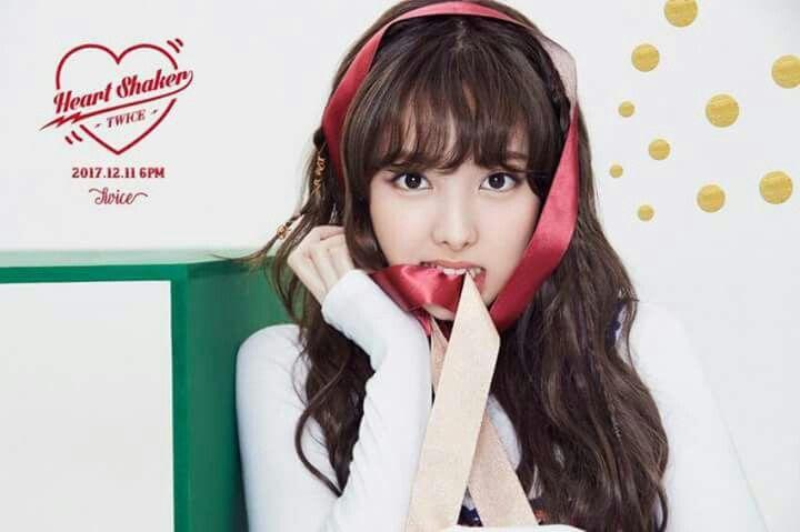 TWICE -1st Album Repackage #Nayeon #Merry&Happy #Heart Shaker
