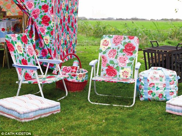 Camping, Cath Kidston style
