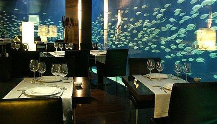Restaurante Submarino, una decoración de lujo para los amantes del mar. (Foto: Flickr)