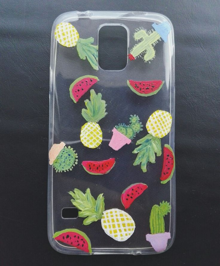 #fruits #colours #handmade #painted #phonecase #summerfruits #summervibes #summer #accessorise