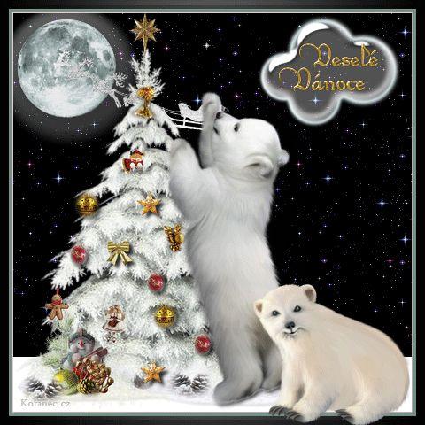 vánoční přání - přáníčka 064