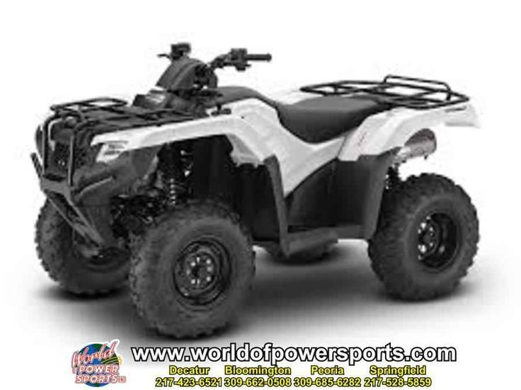 New 2016 Honda TRX420FA6G RANCHER 420 DCT IRS EPS ATVs For Sale in Illinois. 2016 Honda TRX420FA6G RANCHER 420 DCT IRS EPS, New 2016 HONDA RANCHER 420 DCT IRS EPS ATV owned by our Decatur store and located in DECATUR. Give our sales team a call today - or fill out the contact form below.