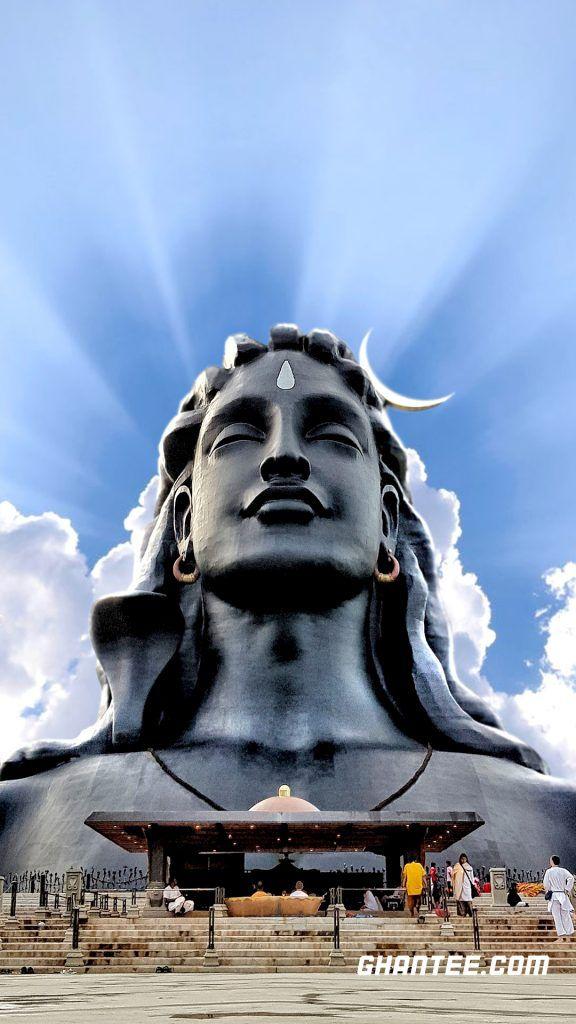 Hd Adiyogi Wallpaper For Mobile Phone Hd Dark Wallpapers Shiva Wallpaper Wallpapers For Mobile Phones Adiyogi statue shiva wallpaper hd