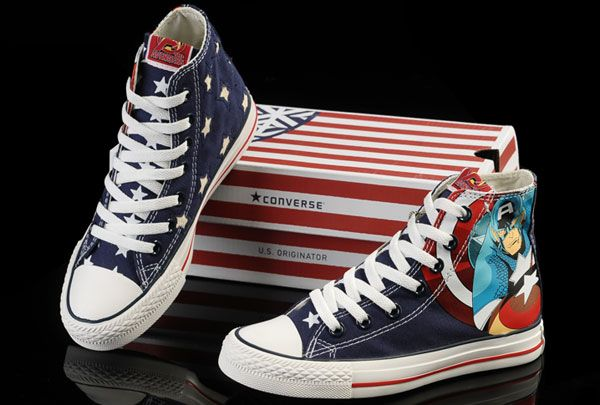 special edition converse shoes -  One of the criminals in my novel wears these!