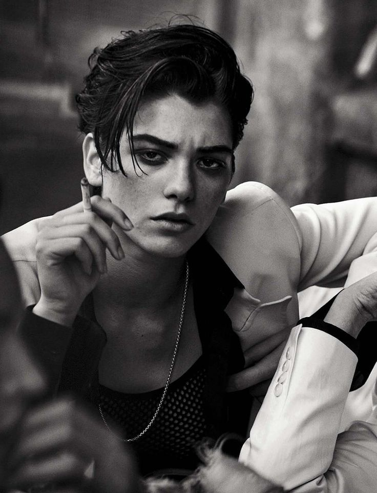 Steffy Argelich by Peter Lindbergh for Vogue Italia May 2015
