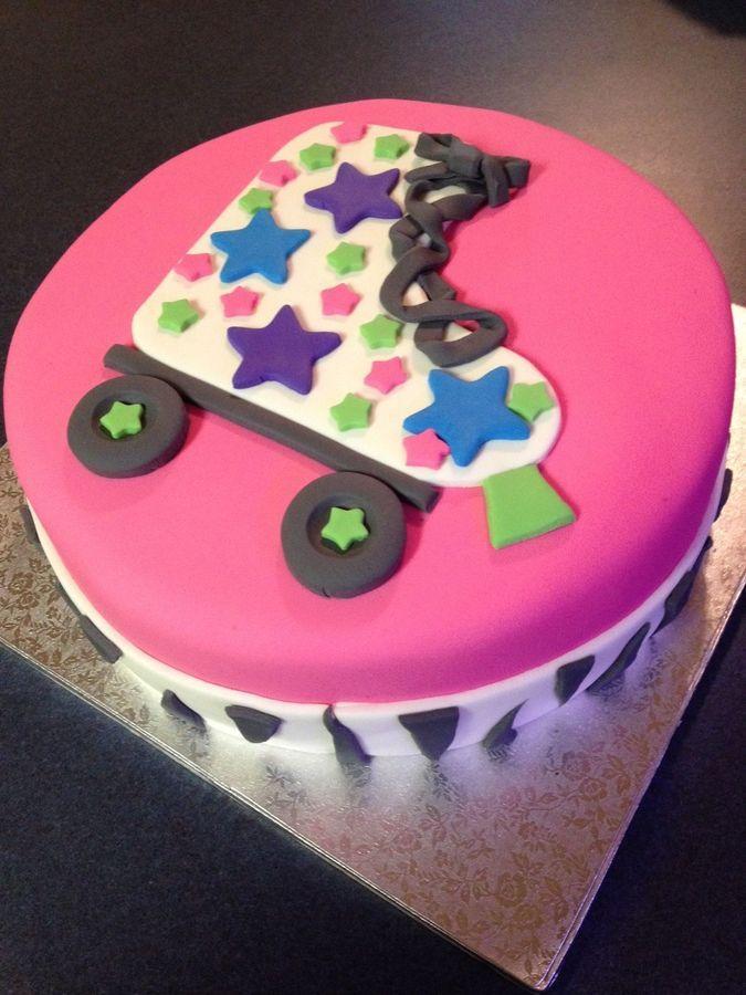 Roller Skate Cake @Trena Campbell