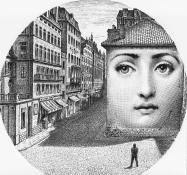 Piero Fornasetti - Tema e Variazoni - Theme & Variations - Lina Cavalieri.