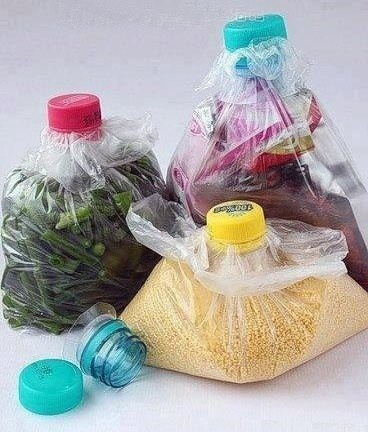 Clever idea for those little leftovers or odd storage solutions.