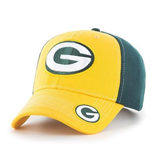 Mens NFL Packers Cap Football Themed Hat Embroidered Team Logo Sports Patterned Team Logo Fan Athletic Team Spirit Fan Comfortable Green Gold White