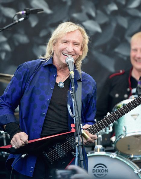 Musician Joe Walsh performs onstage during John Varvatos' International Day of Peace Celebration with a special performance by Ringo Starr & His All Starr Band at the John Varvatos Boutique on September 21, 2014 in West Hollywood, California. - John Varvatos Celebrates International Day Of Peace With A Special Performance By Ringo Starr And An All Starr Band