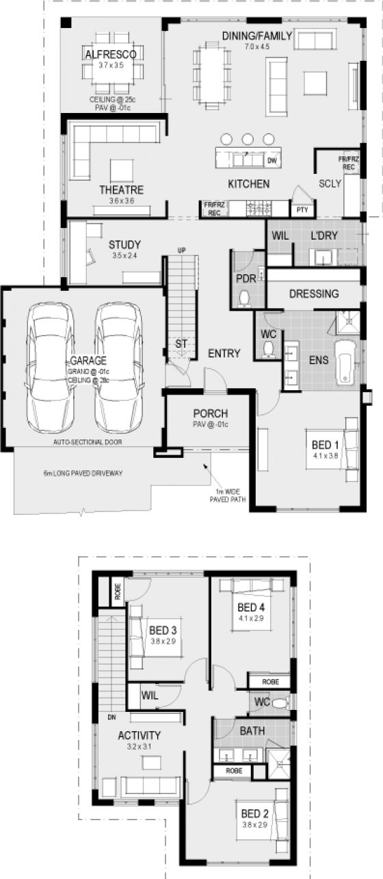 970 best house plans images on pinterest home design for Floor plans victoria bc